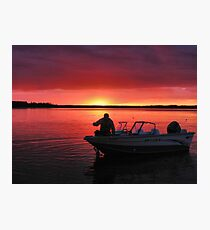 After The Day Is Done Photographic Print