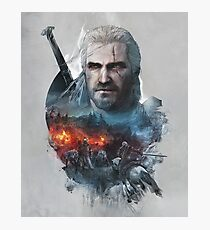 Geralt of Riv The Witcher Photographic Print