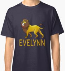 Evelynn Lion Drawstring Bags Classic T-Shirt