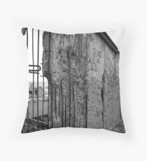 Berlin Wall 1 Throw Pillow