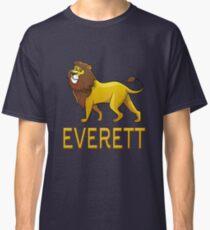 Everett Lion Drawstring Bags Classic T-Shirt