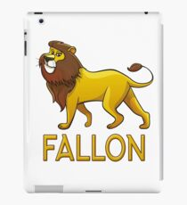 Fallon Lion Drawstring Bags iPad Case/Skin