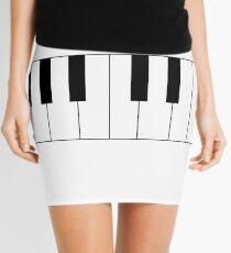 Two Octave Piano Keys Mini Skirt