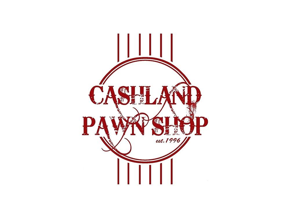 CASHLAND PAWN ORIGINAL MAROON LOGO by CASHLANDPAWN
