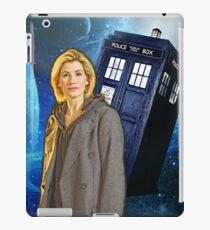 13th Doctor Tardis  iPad Case/Skin