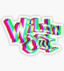 Wild 'N Out Glitch Sticker