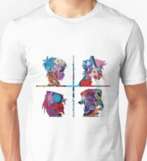 Gorillaz Graffiti Unisex T-Shirt
