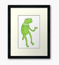 Mr Kermit Framed Print