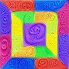 DeepDream Color Squares Visual Areas 5x5K v11 by blackhalt