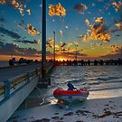 Lancelin Jetty Mooring by adbetron