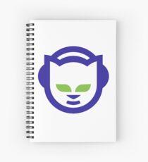 Napster Retro Logo Spiral Notebook