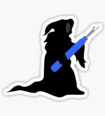 Seam Reaper (Grim Reaper with Seam Ripper) Sticker