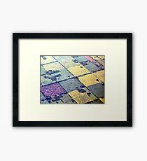 Like A Patchwork Quilt Framed Print