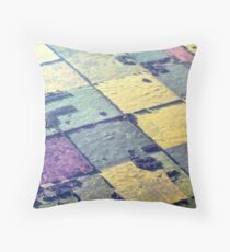 Like A Patchwork Quilt Throw Pillow