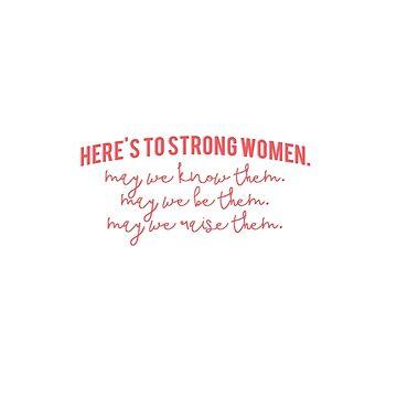 ¡Aquí hay mujeres fuertes! de laurajoy16