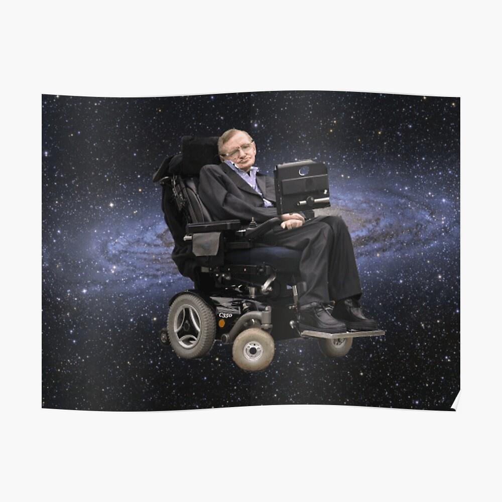 Ruhe im Frieden Stephen Hawking Poster