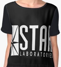 STAR LAB SHIRT Chiffon Top