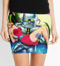 Robot Kidnap Mini Skirt