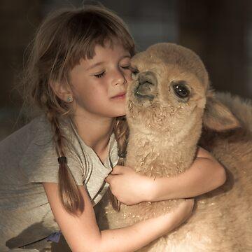 Llama Lovin' by BigRedCurlyGuy