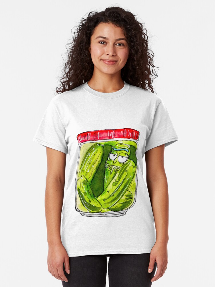 Alternate view of DILL PICKLED RICK  Classic T-Shirt