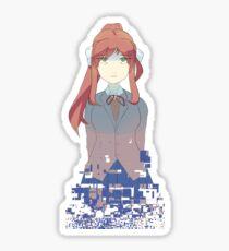 a glitch is a glitch Sticker