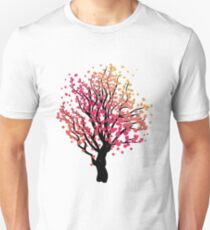 Stylized Autumn Tree 4 T-Shirt