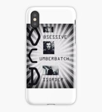 Obsessive Cumberbatch Disorder iPhone Case