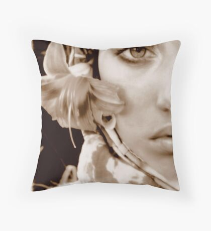 Memory Box Throw Pillow