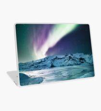 Aurora Borealis auf Jokulsarlon - Island Laptop Folie