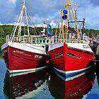 Stornoway Harbour by lezvee