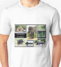 The famous *BIG FIVE* Unisex T-Shirt