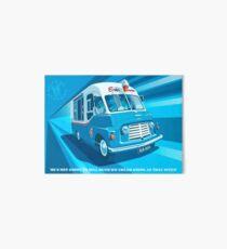 Morecambe and Wise Ice Cream Van Art Board
