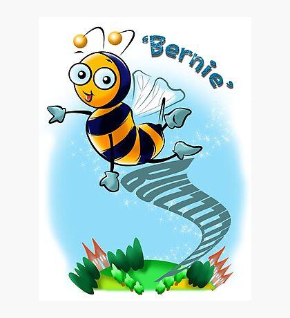 Bernie Bumble Bee Photographic Print