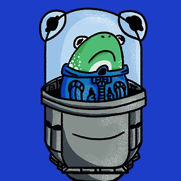 Space Frog  by ZachyMassacre