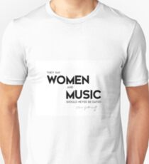 women and music, dated - oliver goldsmith Unisex T-Shirt