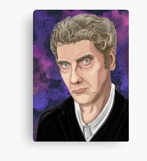 Peter Capaldi - 12th Doctor Canvas Print
