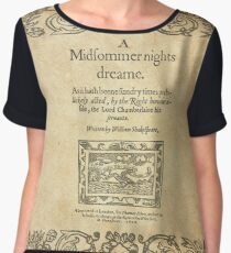 Shakespeare, A midsummer night's dream 1600 Blusa