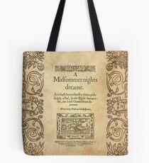 Shakespeare, Ein Sommernachtstraum 1600 Tasche