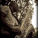 Saxy Sax by David Petranker