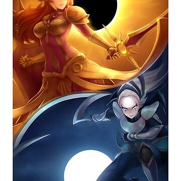 Sun and Moon by xAurom