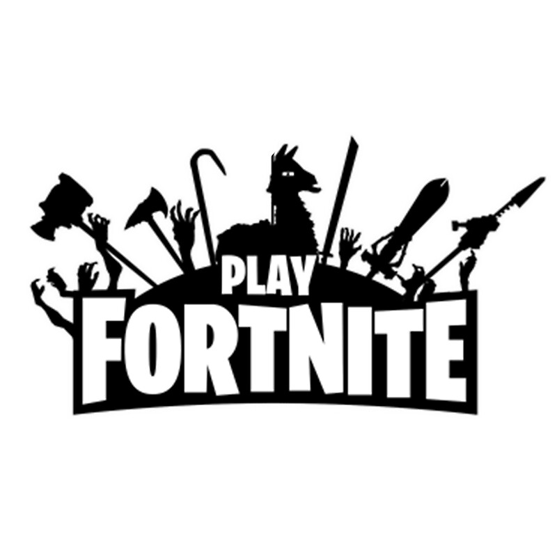 Witty image for fortnite logo printable