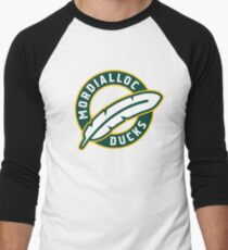 Mordialloc Ducks Roundel Baseball ¾ Sleeve T-Shirt
