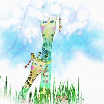 giraffes by Marili-Design