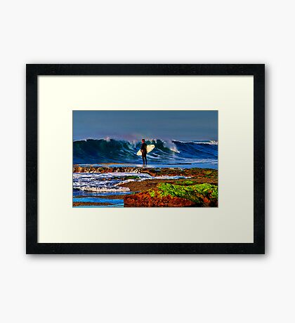 """Waiting For Takeoff"" Framed Print"