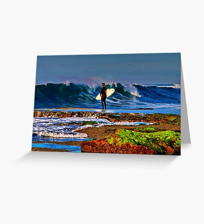 """""""Waiting For Takeoff"""" Greeting Card"""