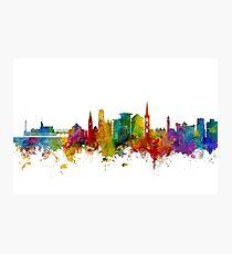 Bournemouth England Skyline Photographic Print