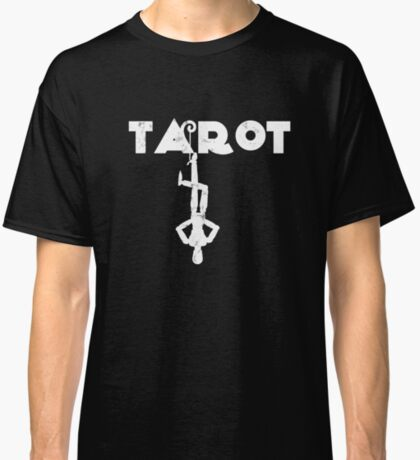 Tarot Hanged Man Fortune Teller Crystal Ball Palm Reader Classic T-Shirt