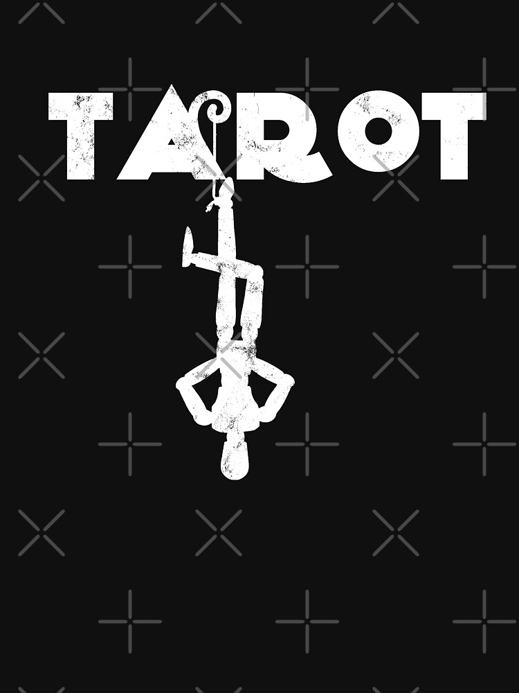Tarot Hanged Man Fortune Teller Crystal Ball Palm Reader by thespottydogg