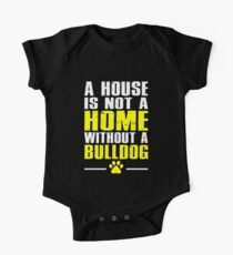 Bulldog House One Piece - Short Sleeve
