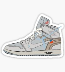 Off-white Jordan 1  Sticker